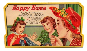 Happy Home needle book (SR)