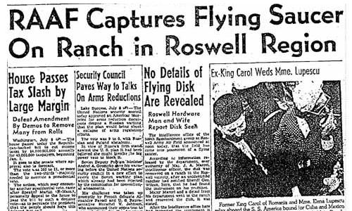 Roswell-Saucer